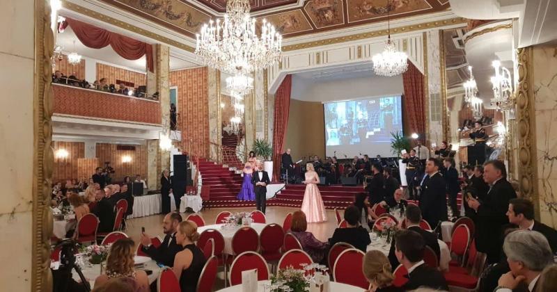 Svetosavski bal: Srpski šarm očarao Beč